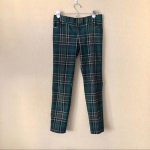 PLEIN SUD jeans plaid Skinny Pants